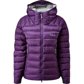 Rab Electron Pro Jacket Women, black currant